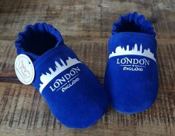 chaussons cuir london