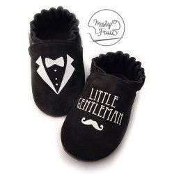 chaussons cuir bébé enfant adulte little gentleman misty fruits