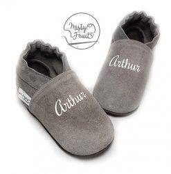 chaussons-cuir-souple-prenom-phosphorescent-4