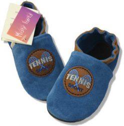 Chaussons en cuir Tennis