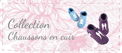 Collection Chaussons en cuir